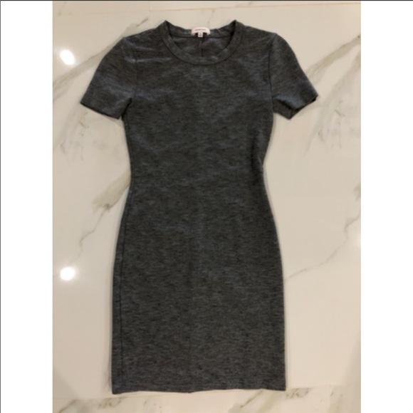 Sunday Best Grey Bodycon Dress Size: 00